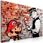 Tableau - Mural on Brick
